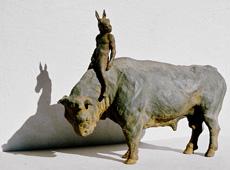 Bull and Rider
