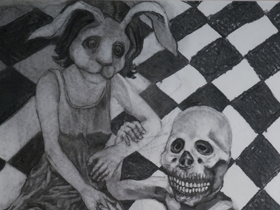 Bunnygirl and the Dead (sold)
