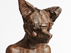 Dog Mask Figure