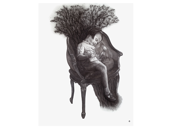 The Dreaming Chair (photogravure)