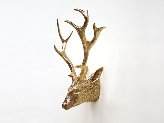 Golden Deer Head