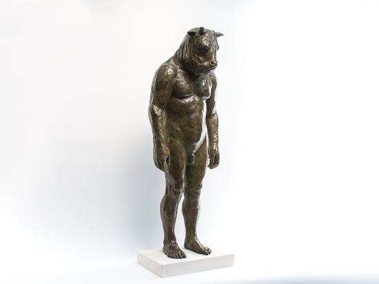 Standing Minotaur II
