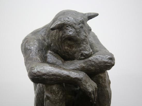 Sitting Minotaur