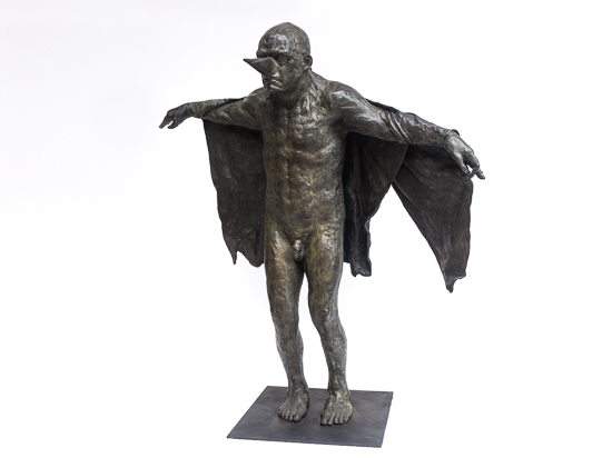 Birdman (with cloth wings)