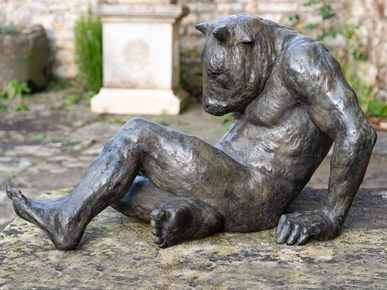 Fallen Minotaur