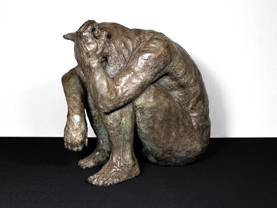 Minotaur (holding horn)